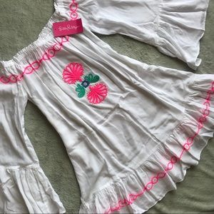 NWT Lilly Pulitzer Nemi Embroidered Cover Dress